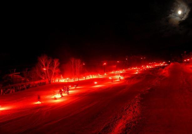 蔵王樹氷まつり2021」1,000人松明滑走&冬のHANABI | イベントナビ